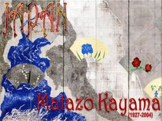 Matazō Kayama (1927-2004) was a Japanese Nihonga painter of the 20th century. He was a painter who employed a mixed technique. In 1973 he was granted the prize for Japanese Art and, in 1980, he received the Prize of the Ministry of Culture. He became a professor at the Tokyo University of the Arts in 1988