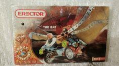 New Meccano Erector Crazy Inventors The Bat 6651 Builds 3 Models 3V Motor | eBay