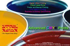 Sonal Xerox Digital Print Services: Advanced CMYK Prints at Sonal Xerox