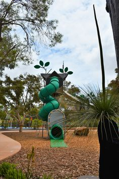 https://flic.kr/p/N6E2p2 | Bibra Lake Regional Playground | The 7,000m2 fenced park is designed to cater for people of all ages and abilities.  There are toilet facilities, shaded BBQ areas as well as  barbecues that have wheelchair recesses to make cooking easy.  #PlayRightAustralia #Kompan #Corocord #playgrounds