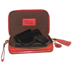 Concealed Carrie Bright Red Compact Carrie
