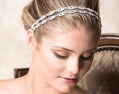 Bridal Hair Accessories Swarovski Crystal by GlamorousBijoux