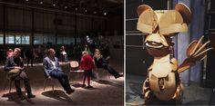 Swings at Dietiker and imaginary creatures at Horgen Glarus/ Photo credit: Swiss Design, Design Show, Swings, Photo Credit, Design Trends, Most Beautiful, Creatures, Design Inspiration, Blog