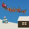 Santa Landing Game Online. Guide Santa's sleigh and reindeer to land safe on the rooftops. Play Fun Free Reindeer Landing Games.