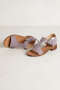 Anthropologie - Verge T-Straps.
