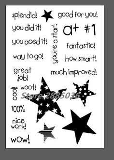 Stamp You Are A Star Set Ali Express (Sweet & Sassy)