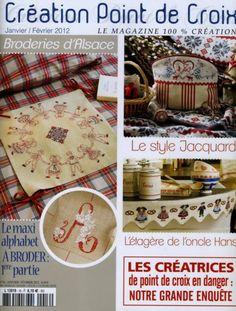 Creation de Point de Croix No. 16 - Jan./Fev. 2012