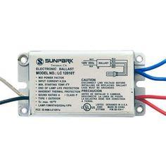 Compact Fluorescent Ballast 13W - Electronic - Quad - LC12010T