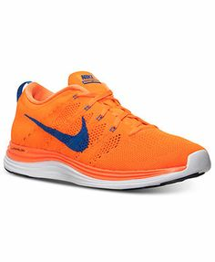 official photos ac498 cb8ac Nike Men s Flyknit Lunar 1 Running Sneakers from Finish Line Men - Finish  Line Athletic Shoes - Macy s