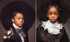 [Pics] This Stunning Photo Series Was Inspired by Black Girls, Natural Hair and the Baroque Era