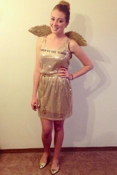 Golden Snitch Halloween Costume! I love Harry Potter!
