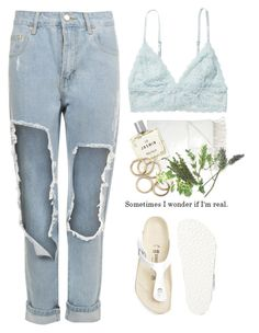 """""""- the Life hole -"""" by lolgenie ❤ liked on Polyvore featuring Monki, Barneys New York, WearAll, Miller Harris and Birkenstock"""