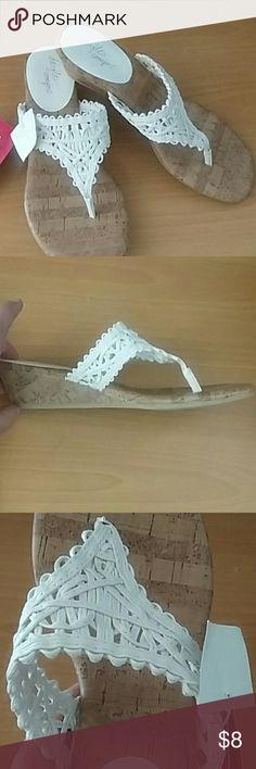 "NWT Cute Sandals (Final Price) Cute dexflex comfort sandals NWT. The heels are 2"" approx Dexflex Shoes Sandals"