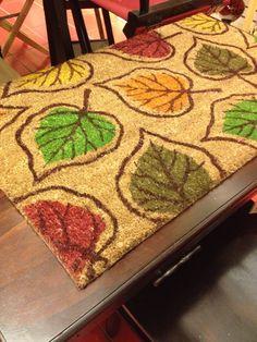Nabbed this doormat at Pier 1. :)