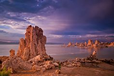 Top 10 US travel destinations for 2013 - (No. 6: Tufa towers in Mono Lake, Eastern Sierra in California)