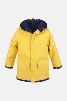 Kinder-Friesennerz basic | Hanseheld.de Material, Rain Jacket, Windbreaker, Raincoat, Jackets, Fashion, Cowl, Kids, Down Jackets