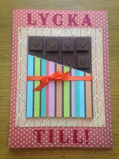 Choklad chocolate lycka till