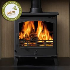The Astwood multifuel stove has an output of and features a large glass door which is kept clean by its powerful airwash. Being DEFRA approved enables wood to be burned within smoke controlled areas and by being multifuel, this allows s Boiler Stoves, Wood Fuel, Multi Fuel Stove, Range Cooker, Electric Stove, Home Fireplace, Log Burner, Hearth And Home, White Cottage