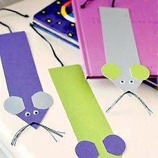 f you are interested in making some cute mouse crafts then this article is the perfect place to start. There is a large assortment of mouse crafts ranging from simple foam crafts, to walnut mice, beaded safety pins, coloring pages, mouse origami Kids Crafts, Foam Crafts, Craft Projects, Craft Ideas, Preschool Crafts, Easy Crafts, Homemade Bookmarks, Diy Bookmarks, Bookmarks For Kids