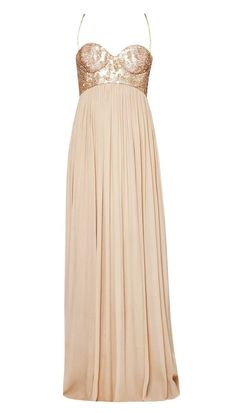 champaign gown