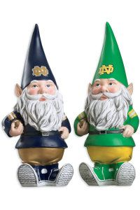 SPIRIT PRODUCTS LTD. : F1128B1 Football Gnome : Hammes Notre Dame Bookstore : www.nd.bkstr.com