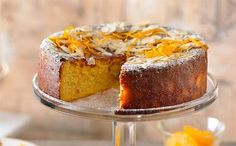 Gluten-free flourless orange and almond cake: The secret here is boiling the oranges whole – as well as making them extra sweet, it'll fill your home with amazing aromas.