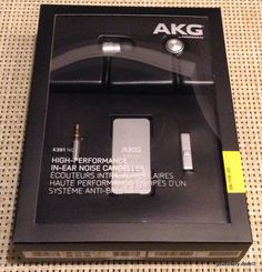 AKG K391 NC Noise Cancelling Headphones Review