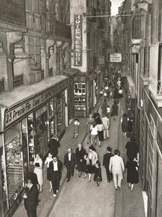 "Barcelona 60s ""Carrer Boqueria"""
