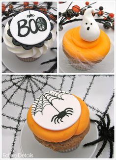 It's getting close to Halloween! Check out the Half Baked Blog and see the Sweet Spooky Halloween cake ideas :) #Halloween #cupcakes #spooky #fun