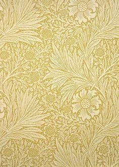 Marigold Wallpaper A two tone yellow floral and leaf wallpaper, circa This wallpaper has a matching linen fabric, shown below. Marigold Wallpaper A two tone yellow floral and leaf wallpaper, circa This wallpaper has a matching linen fabric, shown below.