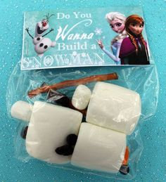 Do You Want To Build A Snowman kit. Frozen Snowman building kit gift.