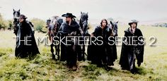 The Musketeers series II, Friday the 2nd of January, 9pm on BBC One. [gif]