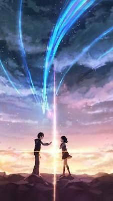 Kimi no Na wa (Your Name). Brilliant movie, a bit confusing but clever, never seen anything like it (Beauty Scenery Japan) Manga Anime, Anime Yugioh, Anime Body, Anime Pokemon, Anime Kawaii, Fille Blonde Anime, Kimi No Na Wa Wallpaper, Anime Plus, Your Name Anime