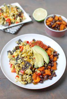 Healthier Mexican Recipes | Text Mex Migas