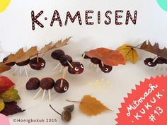KAstanien in Ameisen verwandeln Creepy, Conkers, Art Activities For Kids, Fall Diy, Fall Decor, Arts And Crafts, Diy Projects, Place Card Holders, Seasons