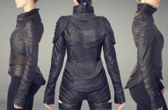 Galareh Designs This is really really amazing-- but the pants unzipped? Really...?? My inner feminist is crying.