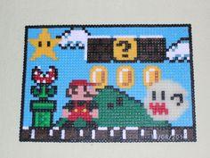 Super Mario aus Hama Bügelperlen von  pikmin3