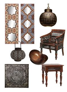 Make Your Own Moroccan Decor | Moroccan inspired product from Home Decorators Collection