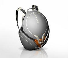 Flo Backpack Looks Like Star Wars Bounty Hunter » Yanko Design