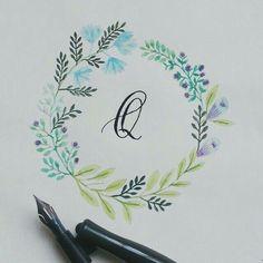 Q #calligrafikas