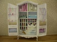 Done as sewing cabinet, but oh the possibilities. :0)