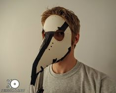 In 1619, Charles de L'Orme invented the Medieval equivalent of a hazmat  suit. It consisted of a waxed overcoat, leather gloves, cane and  beak-shaped mask filled with floral scents. Even though the miasma theory  of disease was ultimately proven untrue, the beak functioned like a gas  mask so plague doctors could treat Bubonic Plague victims.  I have always thought that the beak / Plague doctor masks were fascinating,  but could never justify buying one from a custom maker. With Halloween…