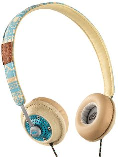Make your headphones part of your entire ensemble by choosing a cute print or bright color! Harambe On-Ear Headphones, $59.99, thehouseofmarley.com