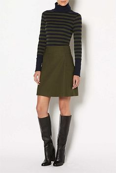 Shop Women's Clothing Australia - Witchery Online - Blonde A-Line Skirt