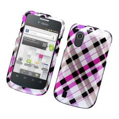 Eagle Cell PIZTECONCORDG2D153 Stylish Hard Snap-On Protective Case for ZTE Concord - Retail Packaging - Pink Brown Black Check, http://www.amazon.com/dp/B00D8H0WBY/ref=cm_sw_r_pi_awdm_YxB5sb0FXKVZA