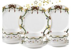 3 x Royal Copenhagen Christmas Teegedeck #royalcopenhagen