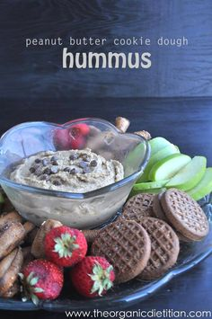 Peanut Butter Cookie Dough Hummus   White Lights on Wednesday