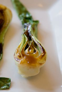 Baby Bok Choy with Oyster Sauce Glaze