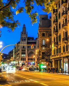 Vía Laeitana (Barcelona)
