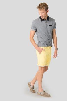 BERMUDA RESERVA DUPLA FACE BALNEÁRIO Patterned Shorts, Bermuda Shorts, Casual Outfits, Polo Shirt, Polo Ralph Lauren, Mens Tops, Shirts, Products, T Shirt